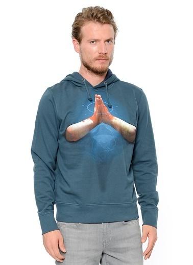 Kapüşonlu Sweatshirt-Kaft